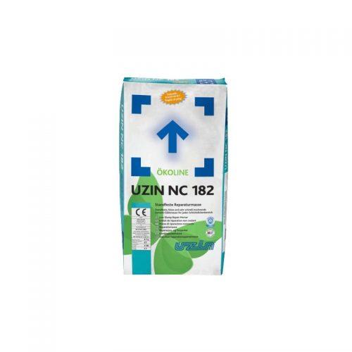 Smulkiagrūdis remontinis greitai džiūstantis glaistas UZIN NC 182 NEW nuo 0 lygio be storio apribojimų