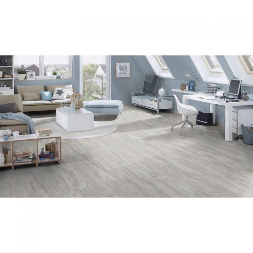 Floordreams vario, K060 Alabaster Barnwood, 1285x192x12mm, 33kl/AC5, laminatas