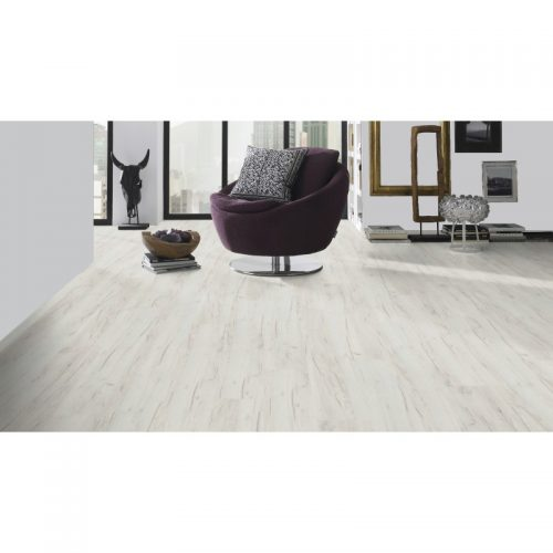 Sublime Vario, K001 White Craft Oak, 1285x192x10mm, 32kl/AC4, laminatas